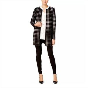 Charter Club Open Front Jacket Duster
